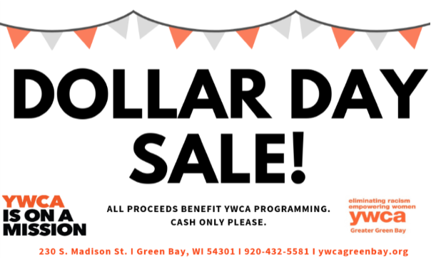 Dollar Day Sale at the Madison Street Boutique! @ YWCA Greater Green Bay | Green Bay | Wisconsin | United States